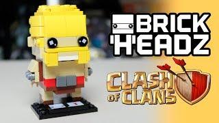 BARBARIAN LEGO Clash of Clans [Brickheadz MOC instruction]