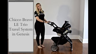 My 5 Favorite Things about the Chicco Bravo LE Trio Travel System in Genesis // Melissa Marie