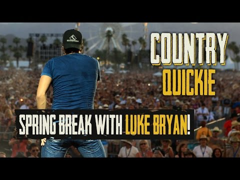 Luke Bryan's Spring Break Party - Country Quickie