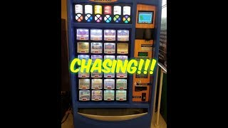 CHASING ALL THE TICKETS IN THE MACHINE! TEXAS LOTTERY SCRATCH OFF TICKETS