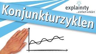 Konjunkturzyklen einfach erklärt (explainity® Erklärvideo)