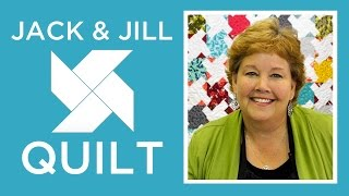 The Jack and Jill Quilt: Easy Quilting Tutorial with Jenny Doan of Missouri Star Quilt Co
