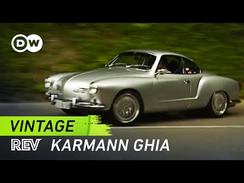 Vintage! Porsche-powered Karmann Ghia | Drive it! - YouTube
