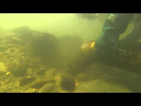 MORE UNDERWATER GOLD DREDGING IN HD 8-12-15