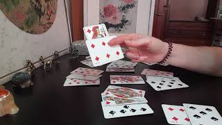 Гадание онлайн на Червовую Даму ❤.Цыганский расклад на игральных картах на ближайшее будущее