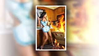 девушки и кухня  A Girl And A Kitchen
