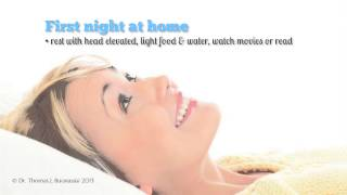 Facelift Surgery Day What to Expect Your First Night At Home Thumbnail