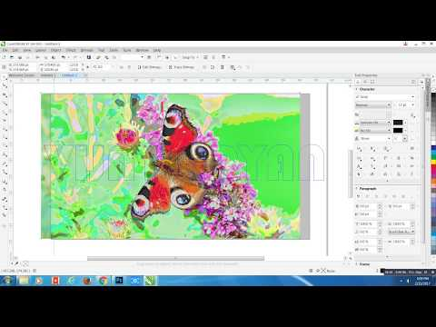 HOW TO USE POWERCLIP IN COREL DRAW X8 LEARN IN 1 MINUTE  COREL DRAW TUTORIAL 2017 |  VIJAY ARYAN