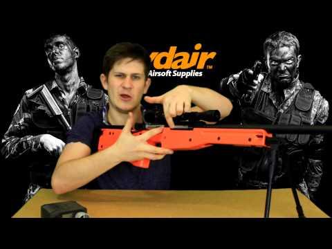 M57A L96A1 Airsoft Sniper Rifle Review!