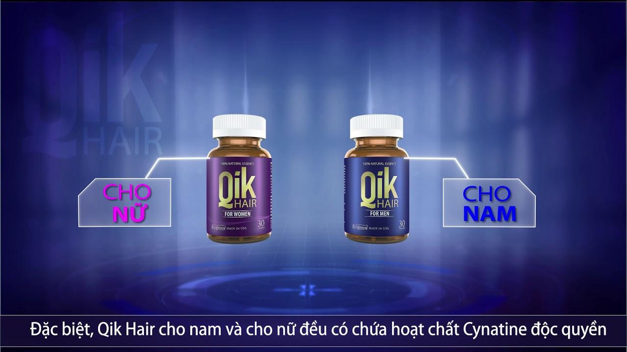 Qik Hair – Giảm Rụng, Mọc Tóc Chắc Khỏe