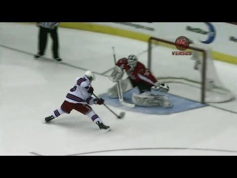 Mats Zuccarello shootout goal vs Washington | 01/24/2011 [HD]