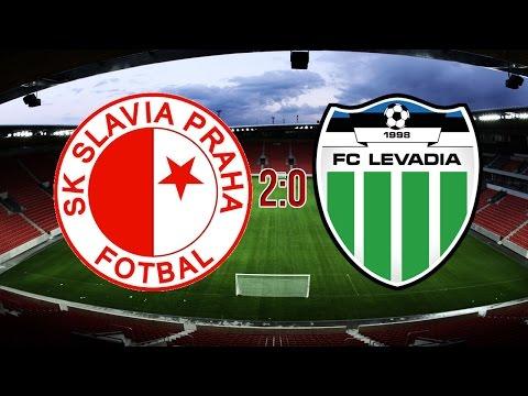 EUROPA LEAGUE | SK Slavia Praha - FC Levadia Tallinn | 2:0 | 21.7.2016
