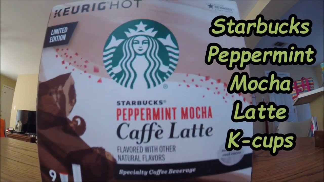 Milo Reviews Starbucks Peppermint Mocha Latte K Cups Limited Edition