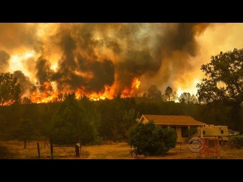 State of emergency in Calif. as massive wildfire threatens homes