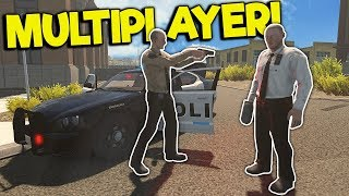 MULTIPLAYER POLICE CHASES & SPEED TRAP! - Flashing Lights Gameplay - Police Simulator 2018