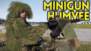ARMA 3 Exile - Part 74 - MINIGUN HUMVEE