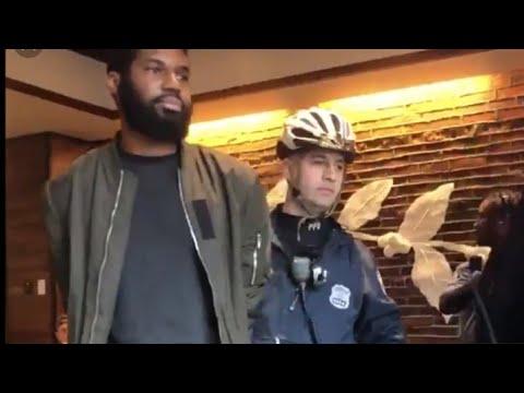 Boskoe100-Speaks On Starbucks arresting Rashon Nelson and Donte Robinson,Black men from Philly