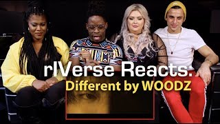 Cover images rIVerse Reacts: Different by WOODZ - M/V Reaction