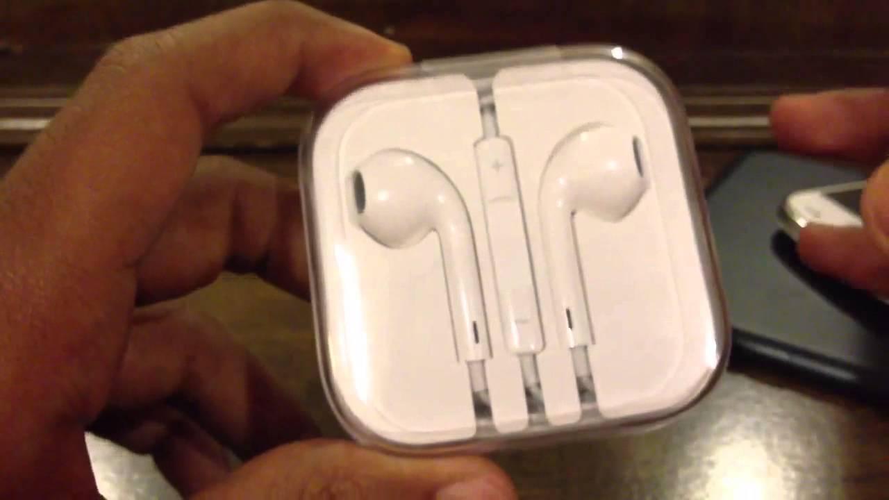 Apple Ear Pods Fake Real سماعات ابل الأصلية و التقليد Youtube