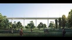 Présentation du nouveau pont de Gênes