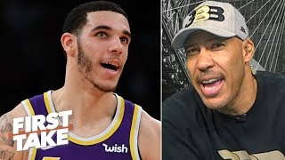 LaVar takes credit for the Lakers trading Lonzo: 'It's raggedy over there' | First Take