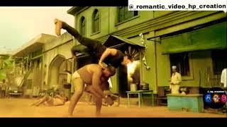 Fight scan clip.. //Sai srinivas VS Allu Arjun// best fight video... ||romantic_video_hp_creation||.
