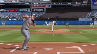 Major League Baseball 2K7 PlayStation 3 Gameplay - Red Sox