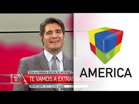 Emotiva despedida de Guillermo Andino de la primera edición de América Noticias