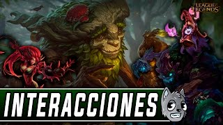 Ivern | Interacciones a campeones y objetos (Latino) [League of Legends]