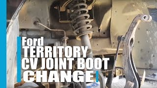 Ford territory CV joint boot change AWD