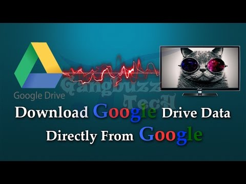 Download Google Drive Files - How To Download All Data From Google Drive   Without Drive App  