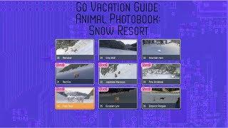 Go Vacation - Snow Resort: Animal Photobook Guide - Nintendo Switch