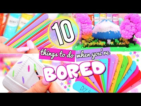Thumbnail: 10 FUN THINGS TO DO WHEN YOU'RE BORED! WHAT TO DO WHEN BORED!