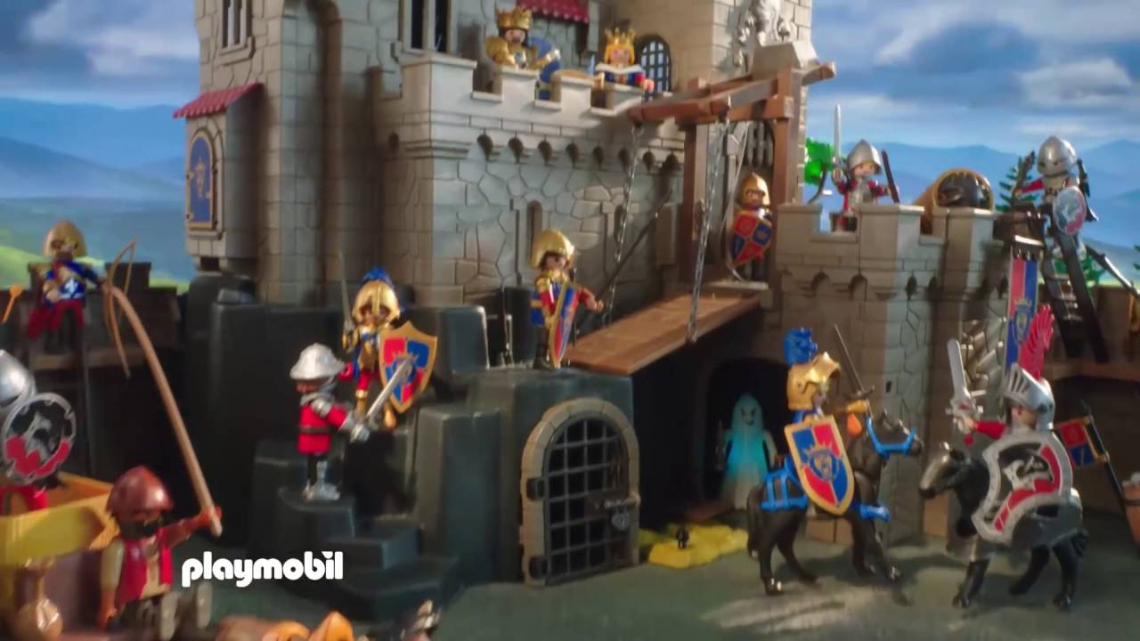 Playmobil Les Chevaliers 6000 Amp 6001 Youtube