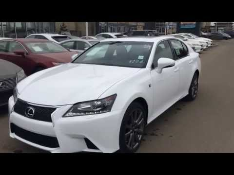 2014 Lexus GS 350 AWD - Ultra White on Red - F Sport Package Review