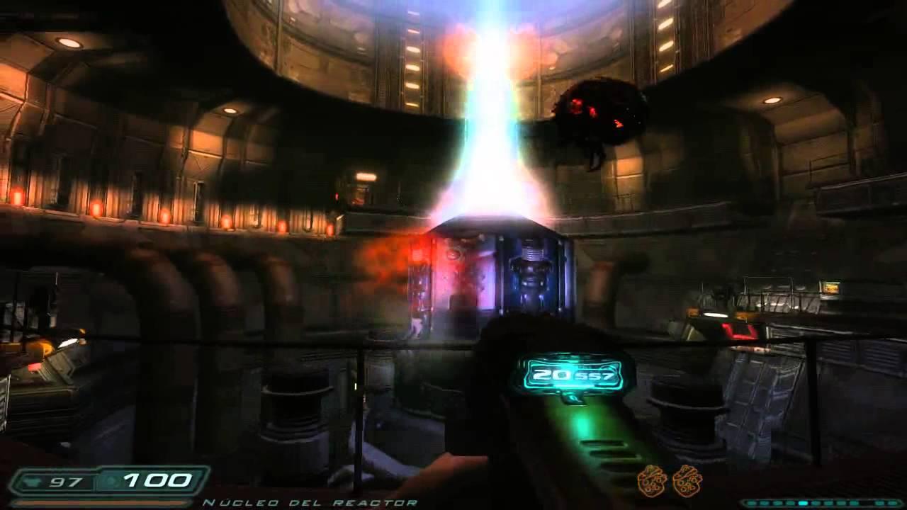 Download Doom 3 (ROE), Phobos Labs - Sector 3: Main Reactor (Sikkmod 1.1, Wulfen Textures) Español
