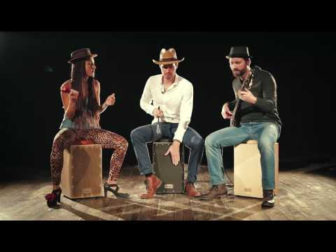 Skilled musicians playing Rebel Cajon