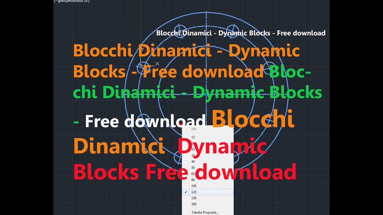 Blocchi dinamici dynamic blocks free download for Blocchi autocad arredi gratis
