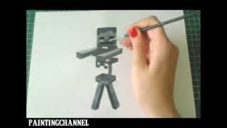 How to Draw/Paint Skeleton - Minecraft