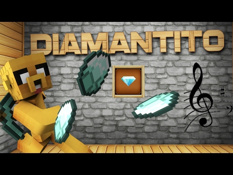 DIAMANTITO - MUSICAL PARODY MINECRAFT (Mikecrack) | Luis Fonsi - Despacito ft. Daddy Yankee Justin