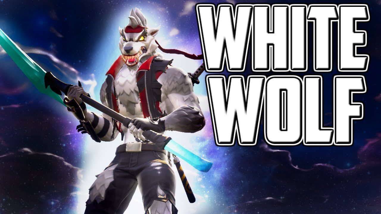 White Wolf Gameplay Fortnite Battle Royale