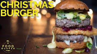 INSANELY CRAZY BURGER | What santa has for Christmas