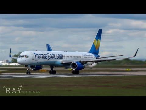 Epic Close up Thomas Cook B753 Departure | G-JMAA | 3rd July 2017