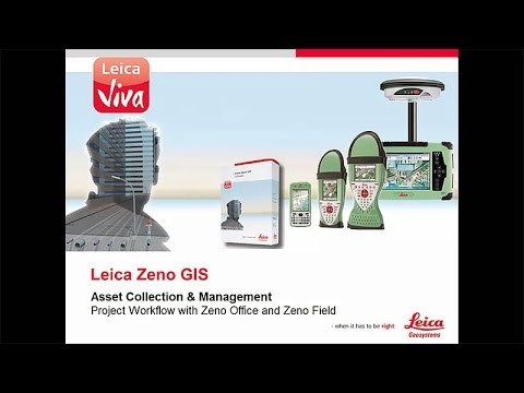 Leica Zeno Field & Office – From Zeno Office to Zeno Field