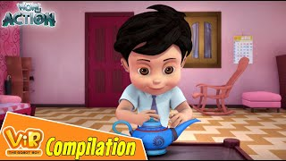 Vir The Robot Boy | Non Stop Action | Cartoon For Kids | Compilation 42
