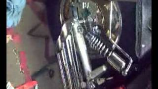 P Swann and Yamaha Virago xv1100 (cobra slash cuts)