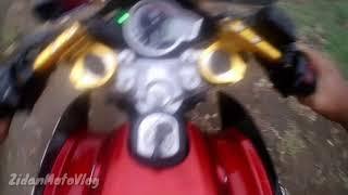 Download Video Test Ride Vixon Ganti stang Jepit 140°| |ZidanMotoVlog MP3 3GP MP4