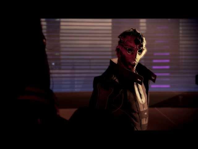 Mass Effect 2: Thane Assassinates Nassana