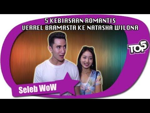5 KEBIASAAN ROMANTIS  VERREL BRAMASTA KE NATASHA WILONA