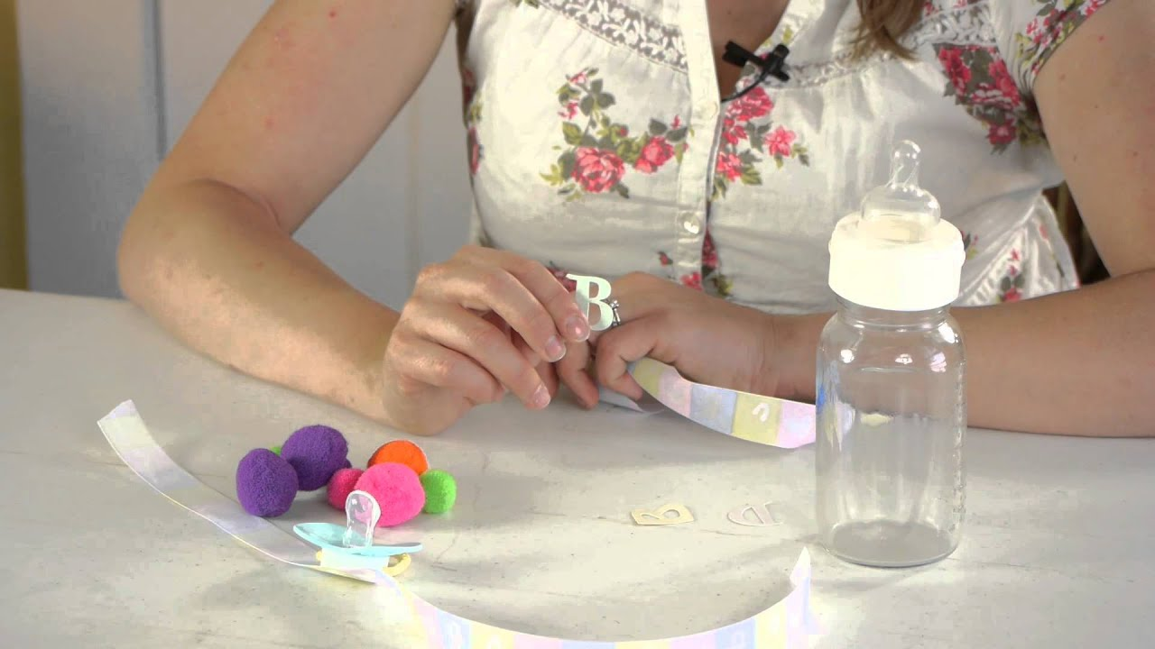 How To Decorate With Pictures: How To Decorate A Baby Bottle : Crafts For Kids